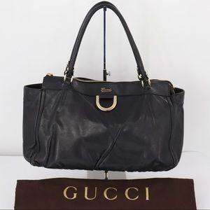 💎✨Authentic✨💎GUCCI Black Leather Handbag